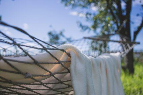白いタオルは実用品