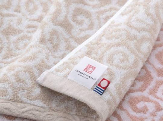 紋織タオル ピンク