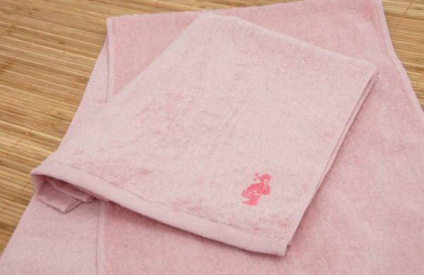 三和タオル ピンク