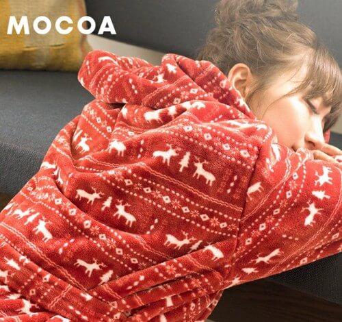 着る毛布 モコア